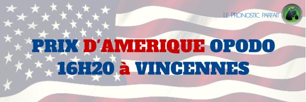 PRIX D'AMERIQUE OPODO (R1/C6) à 16H20 à VINCENNES